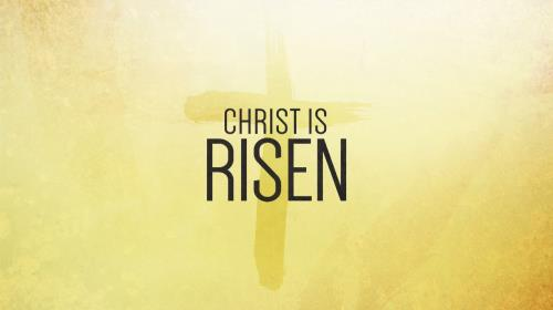 Worship Music Video on He Is Risen