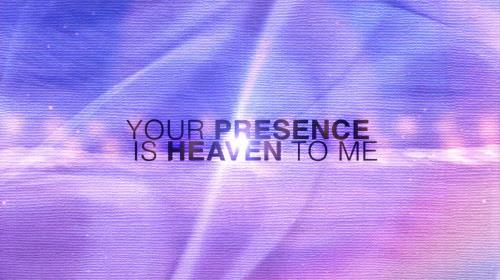 Worship Music Video on Your Presence Is Heaven