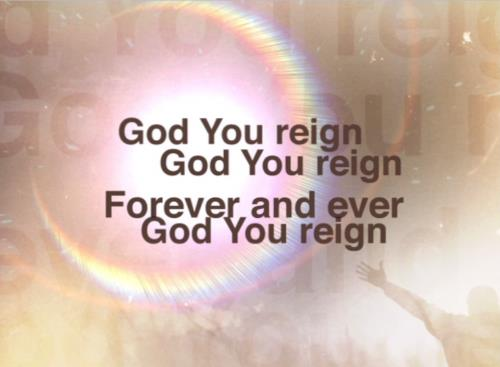 Worship Music Video on God You Reign
