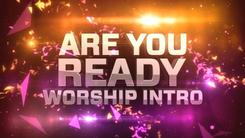 media Are You Ready Worship Intro
