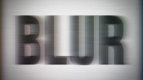 Video Illustration on Blur