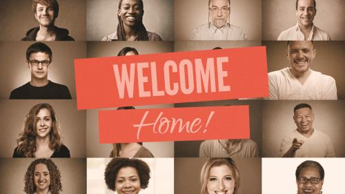 view the Video Illustration Home (A Church Welcome)