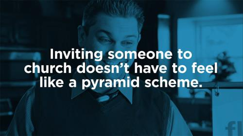 view the Video Illustration Just Ask: Pyramid Scheme
