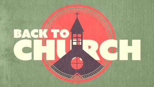 Video Illustration on Back To Church (Invite)