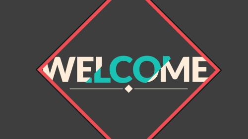 Video Illustration on Welcome