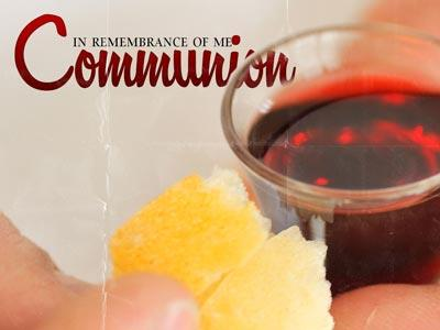 PowerPoint Template on Communion 4