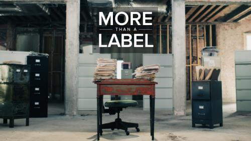 view the Video Illustration More Than A Label