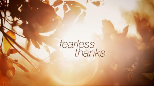 Video Illustration on Fearless Thanks