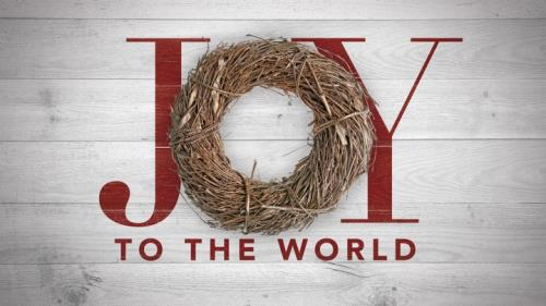 view the PowerPoint Template Joy Twig Wreath