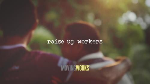 view the Video Illustration Raise  Up Workers