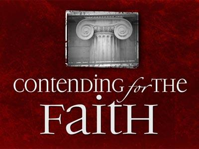view the PowerPoint Template Contending For The  Faith