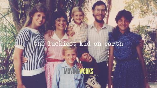 view the Video Illustration The Luckiest Kid On Earth