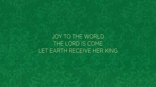 view the Worship Music Video Joy To The World/Our God Saves