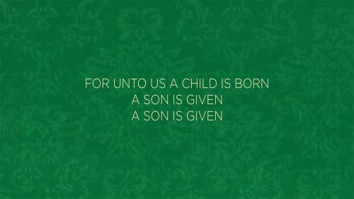 Worship Music Video on  For Unto Us A Child Is Born/Open The Eyes Of My Heart
