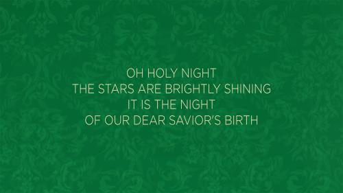view the Worship Music Video O Holy Night/Love Shines Bright