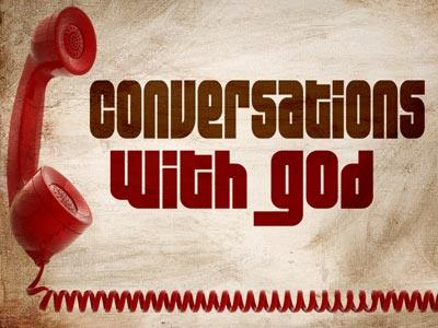 view the PowerPoint Template Conversations With God