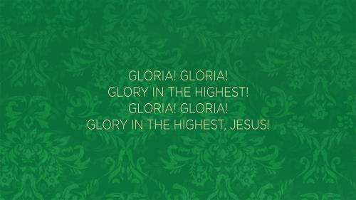 Worship Music Video on Gloria