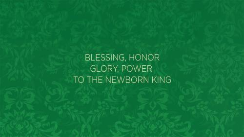 view the Worship Music Video Newborn King