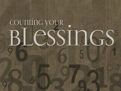 PowerPoint Template on Counting  Your  Blessings