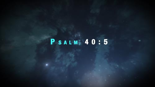 Video Illustration on Psalm 40 Intro