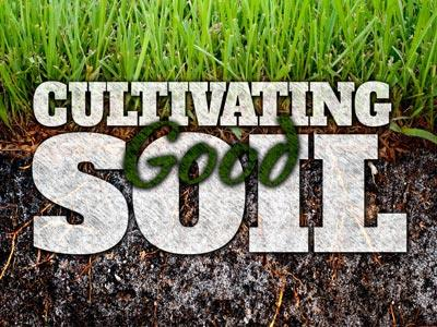 PowerPoint Template on Cultivating  Good  Soil