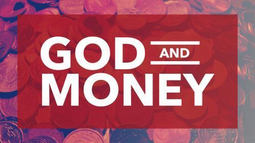 PowerPoint Template on God And Money