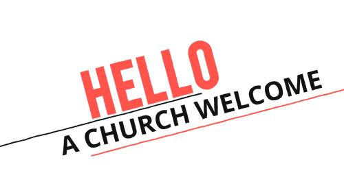 view the Video Illustration Hello (A Church Welcome)