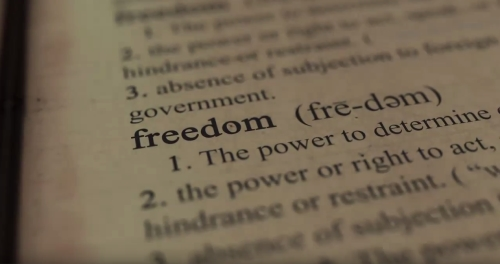 Video Illustration on Freedom Is...