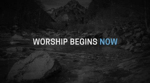 Video Illustration on Now's The Time Worship Video