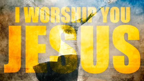 view the Video Illustration I Worship You Jesus