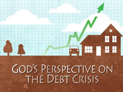 PowerPoint Template on Debt  Crisis