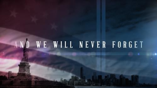 Video Illustration on And We Will Never Forget