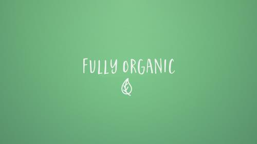 Video Illustration on Fully Organic