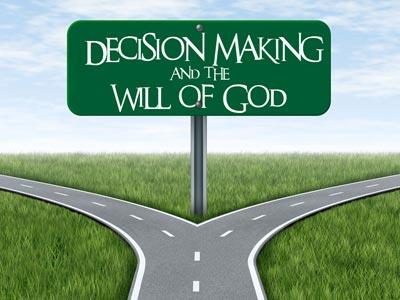 PowerPoint Template on Decision  Making And The  Will Of  God