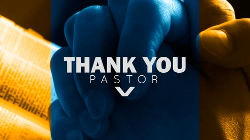 Video Illustration on Thank You Pastor