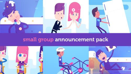media Small Group Announcement Pack
