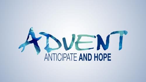 PowerPoint Template on Advent Modern - Hope