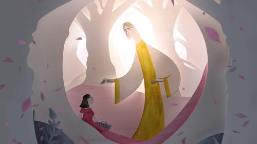 view the Video Illustration The Paper Nativity