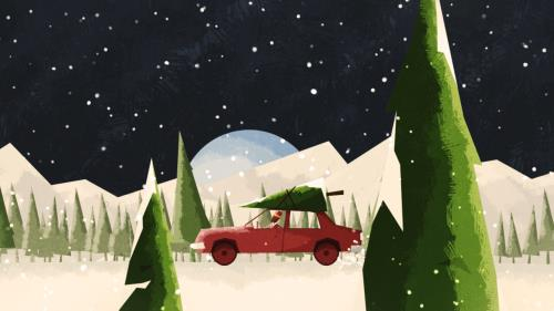 view the Video Illustration Advent Antics: Joy