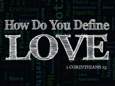 PowerPoint Template on Defining  Love