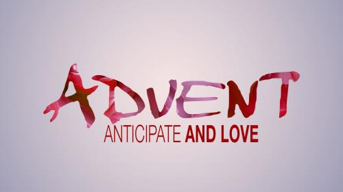 PowerPoint Template on Advent Modern - Love