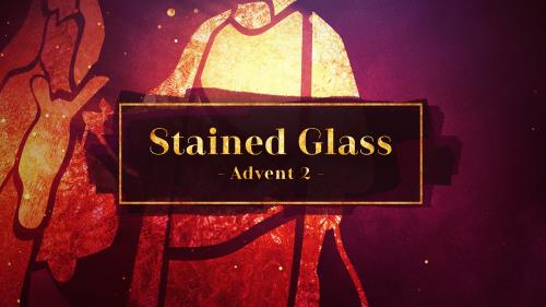 view the Video Illustration Stained Glass Advent 2 (Bethlehem)