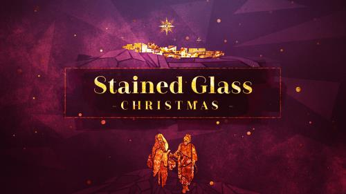view the Video Illustration Stained Glass Christmas