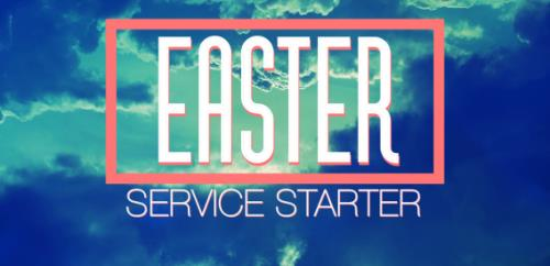 Video Illustration on Easter Service Started