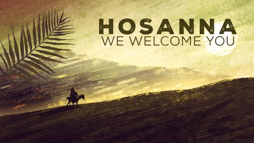 Video Illustration on Hosanna (We Welcome You)