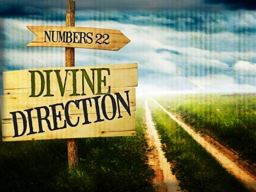 PowerPoint Template on Divine  Direction