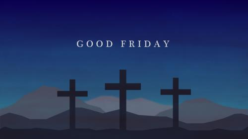 PowerPoint Template on Good Friday