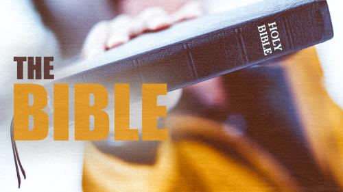 view the Video Illustration The Bible