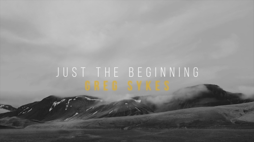 Worship Music Video on Just The Beginning