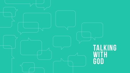 PowerPoint Template on Talking With God